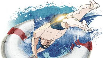 天气炎热 游泳需防溺水