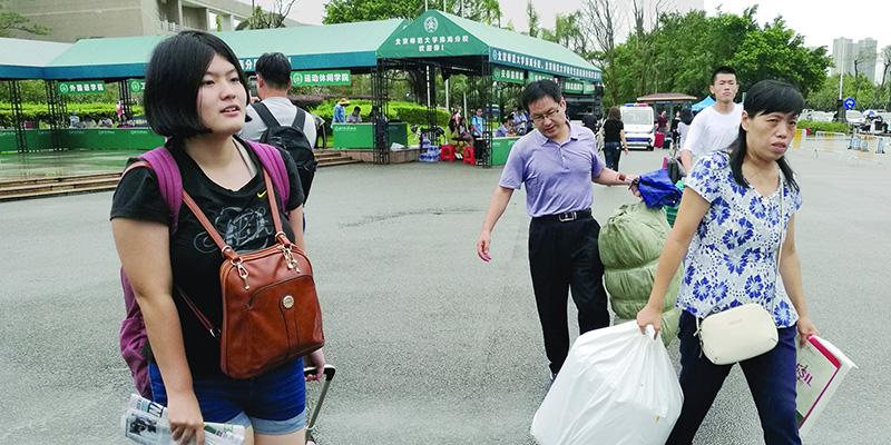 珠海高校陆续迎来10万大学生