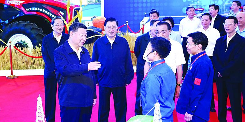 为实现中国梦继续奋斗