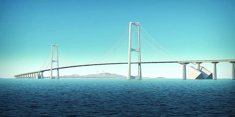 深中通道年底或建全球最高海中大桥