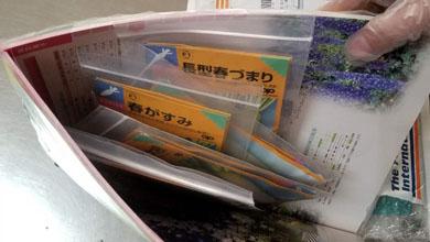 消费者从日本邮寄书籍中夹藏萝卜辣椒种子济南被截获