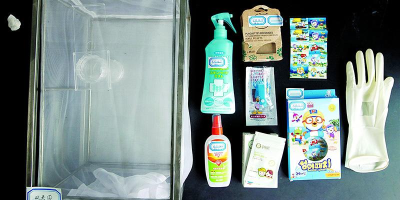 防蚊产品鉴定:戴了防蚊贴,5分钟依然招来26只蚊子