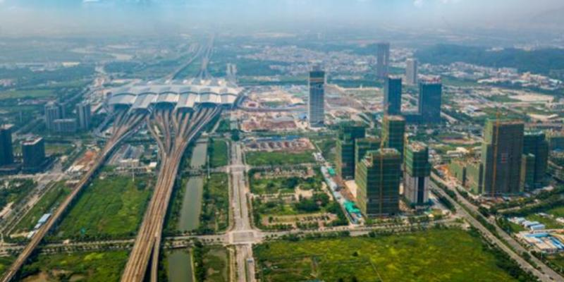 广深港高铁香港段开通在即港企聚焦番禺,16项目抢滩南站