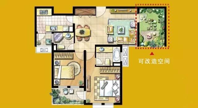 买两房得三房!人见人爱的N+1户型,买了竟然还有坑?