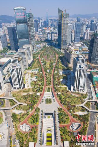 州天河cbd_2012年的珠江新城与天河cbd.天河中央商务区管委会供图