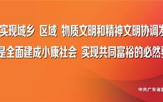 学习宣传贯彻习近平总书记视察广东重要讲话精神宣传画(七)