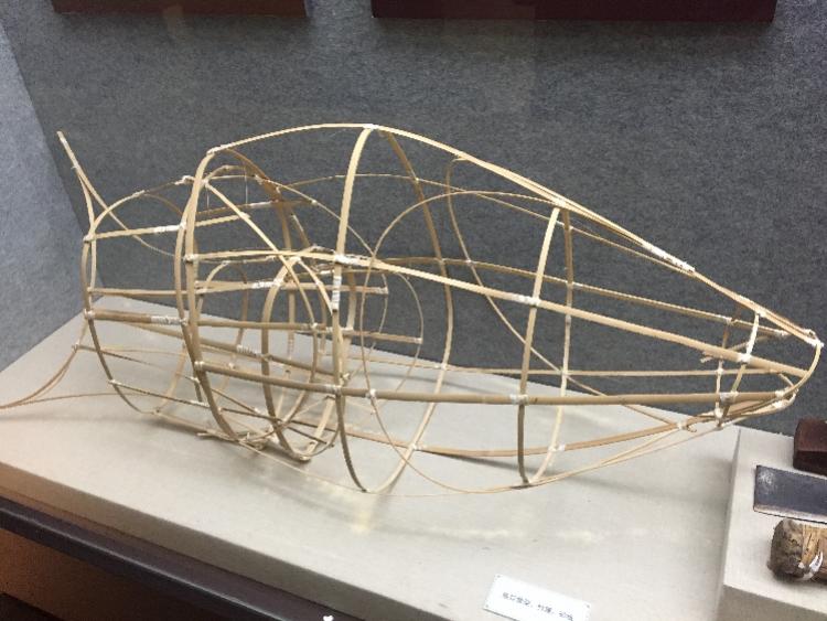 鱼的骨骼结构示意图