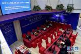 这是新闻中心内的通信网络服务区(2月29日摄)。当日,记者探访了设立于北京梅地亚中心的十二届全国人大四次会议和全国政协十二届四次会议新闻中心。据介绍,两会新闻中心于2月27日正式启用,目前各项工作准备就绪,静待中外记者的到来。新华社记者 李鑫 摄