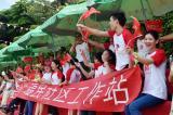 """5月30日,深圳规模最大的龙舟赛事""""观澜河龙舟赛""""业余组的比赛落下帷幕。"""