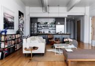 工业时代的中性风格公寓样板房