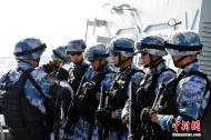 """中国海军特战队亮相""""环太平洋-2014""""演习"""