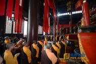 常州市佛教界隆重举行纪念抗战胜利70周年超度法会